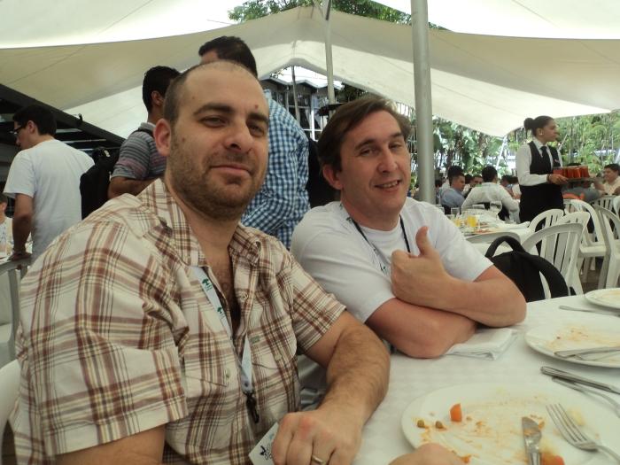 Dos tipos duros, Diego Garber de OLX y Carlos Peix de Kleer