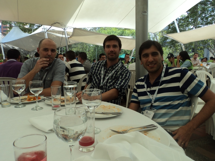 Juan, Diego y Gerardo, de Uruguay