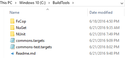buildtools-layout