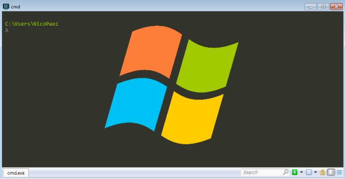 Herramientas para desarrolladoresWindows